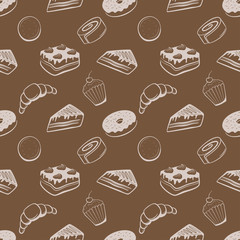 Confectionery vector pattern
