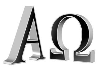 Alpha und Omega,   A und O