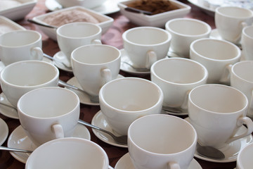 many white cup