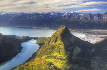 Valdez from above Sugarloaf Fototapete
