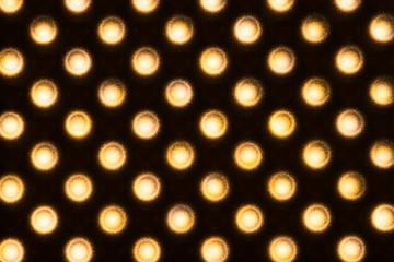 LED spotlights background