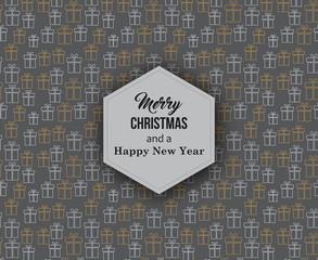 Weihnachtsgeschenke - Grußkarte