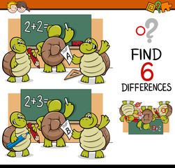 differences task for children
