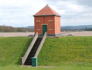 Monitoring Building on Top of an Underground Reservoir.