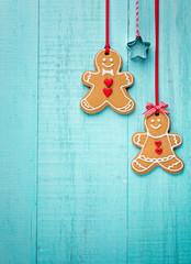 Hanging Gingerbread cookies