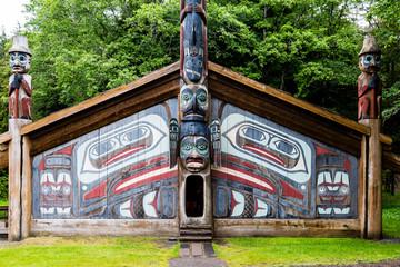 Totem Pole Cabin