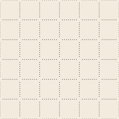 Vector seamless square pattern