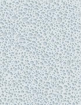 Sponge 3D Texture XL Pattern