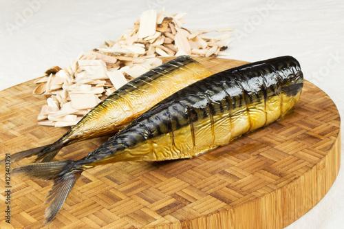 Apple wood smoked mackerel homemade smoked fish smoking for Best wood for smoking fish