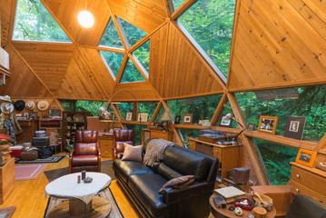 Dome Cabin Living Room-2