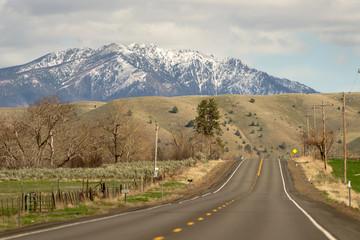 Highway 26 Heading East Oregon United States