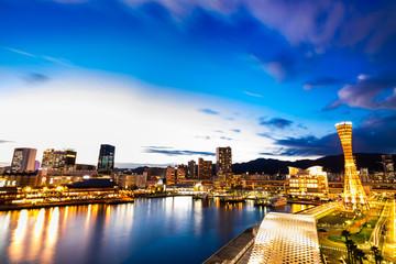 神戸 ベイエリアの夜景