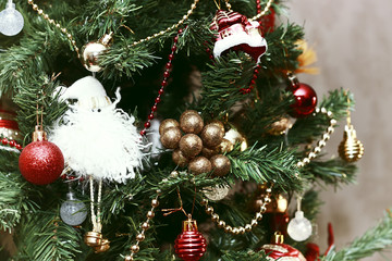 christmas tree decor macro
