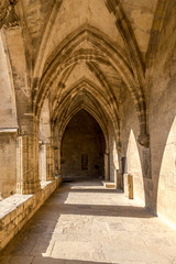 Vestibule in Cathedral of Saint Nazaire in Beziers - France