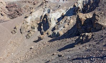 vue sur le cratère