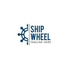 Ship Wheel Creative Concept Logo Design