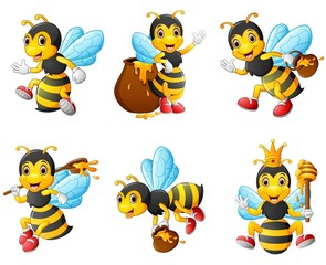 Bees character set collection