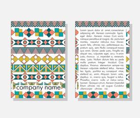 Bright ethnic pattern. Tribal texture. Vintage ethnic backdrop. Boho stripes.