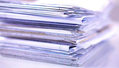 File Stack,  folder with white background