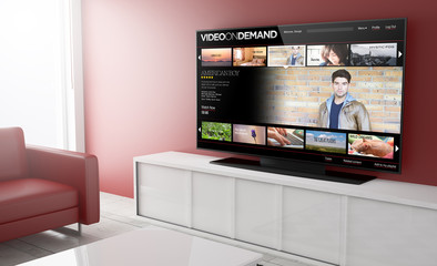 Television smart video on demand