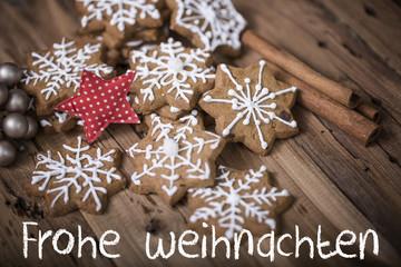 Frohe Weihnachten Karte Postkarte