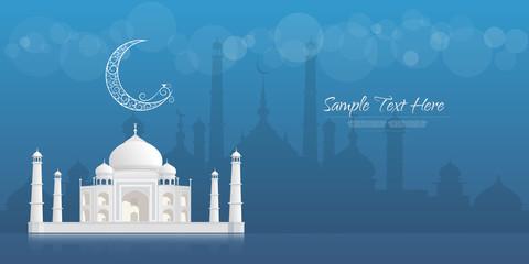 Ramadan Kareem greeting banner, Ramadan Kareem  Background