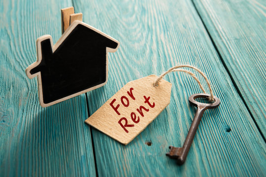 real estate rent concept