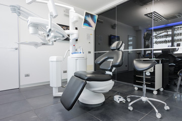 Ambulatorio moderlo e di design di clinica dentale