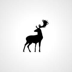 deer icon. deer sign