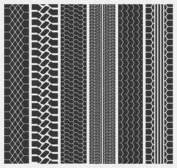 Tire ot tyre of a car or automobile, truck trail