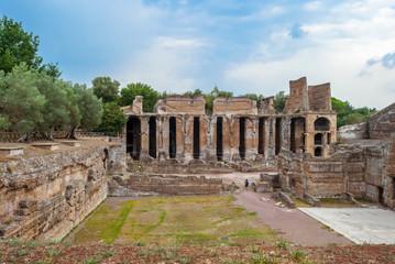 Monumenti antichi e rovine di villa Adriana