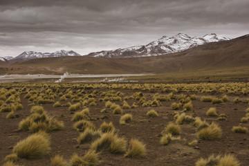 Mountain range, Chile, South America