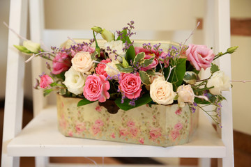 wedding roses arrangement