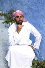 young arabic man