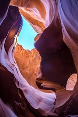 Antelope Canyon in Arizona, USA.