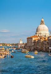 Foto op Aluminium Venetie Basilica Santa Maria della Salute in Venice