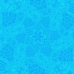 Vintage Paisley Graphic Background