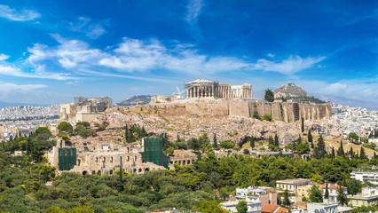 Printed kitchen splashbacks Athens Acropolis in Athens