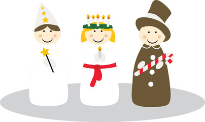 Santa Lucia Swedish tradition