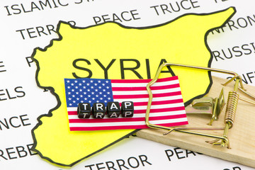 USA trapped in the Syrian war