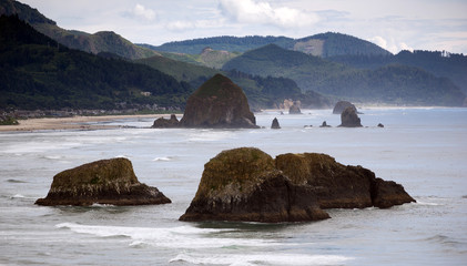 High Overlook Seaside Oregon Pacific Ocean Coastal City