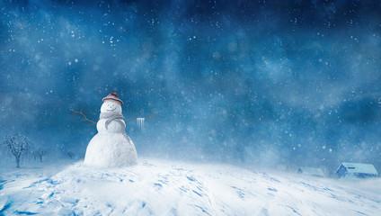 Snowman, Winter