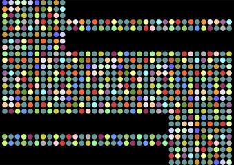 Multi colored dots texture