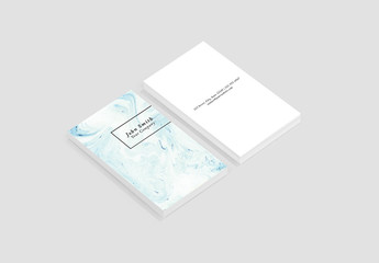 Marbled Business Card