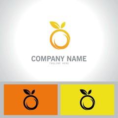 fruits abstract logo