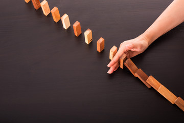 .Stop domino risk effect