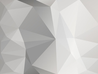 Triangular Triangle Vector Background Abstract  silver