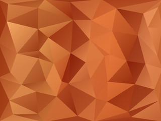 Triangular Triangle Vector Background Abstract  gold