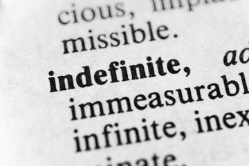 Indefinite