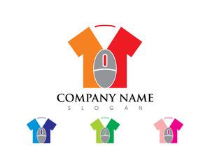 Online T-shirt Logo